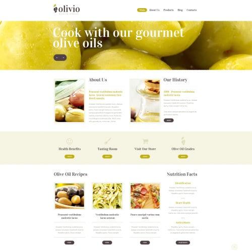 Olivio - HTML5 Drupal Template