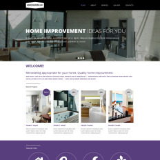 Best Home Remodeling Website Templates - Home remodeling website templates