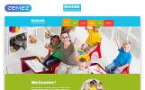 """Kinder - Primary School Creative HTML"" modèle web adaptatif"