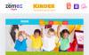 Kinder - Primary School Creative HTML Template Web №48443 Screenshot Grade