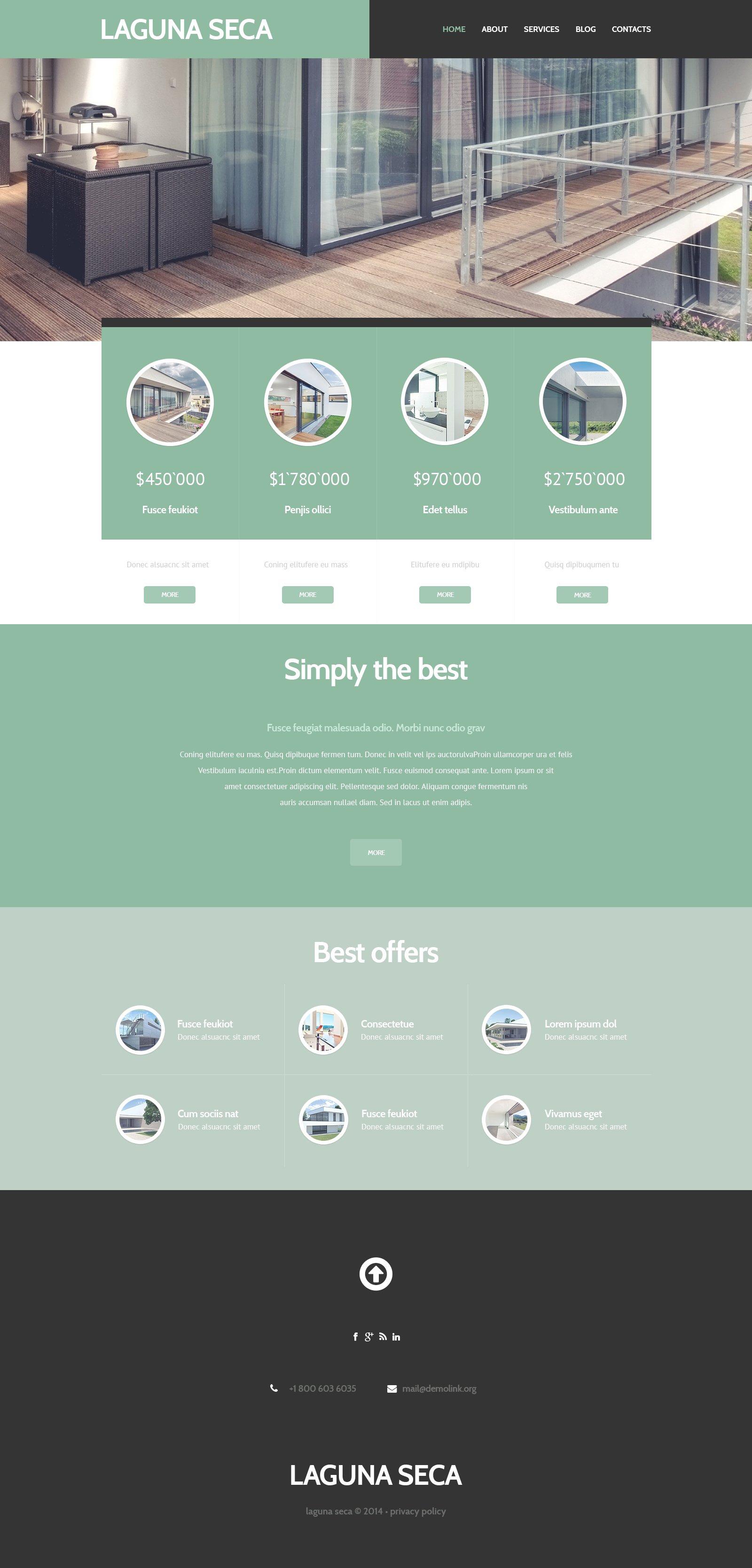 Land Brokers WordPress Theme - screenshot
