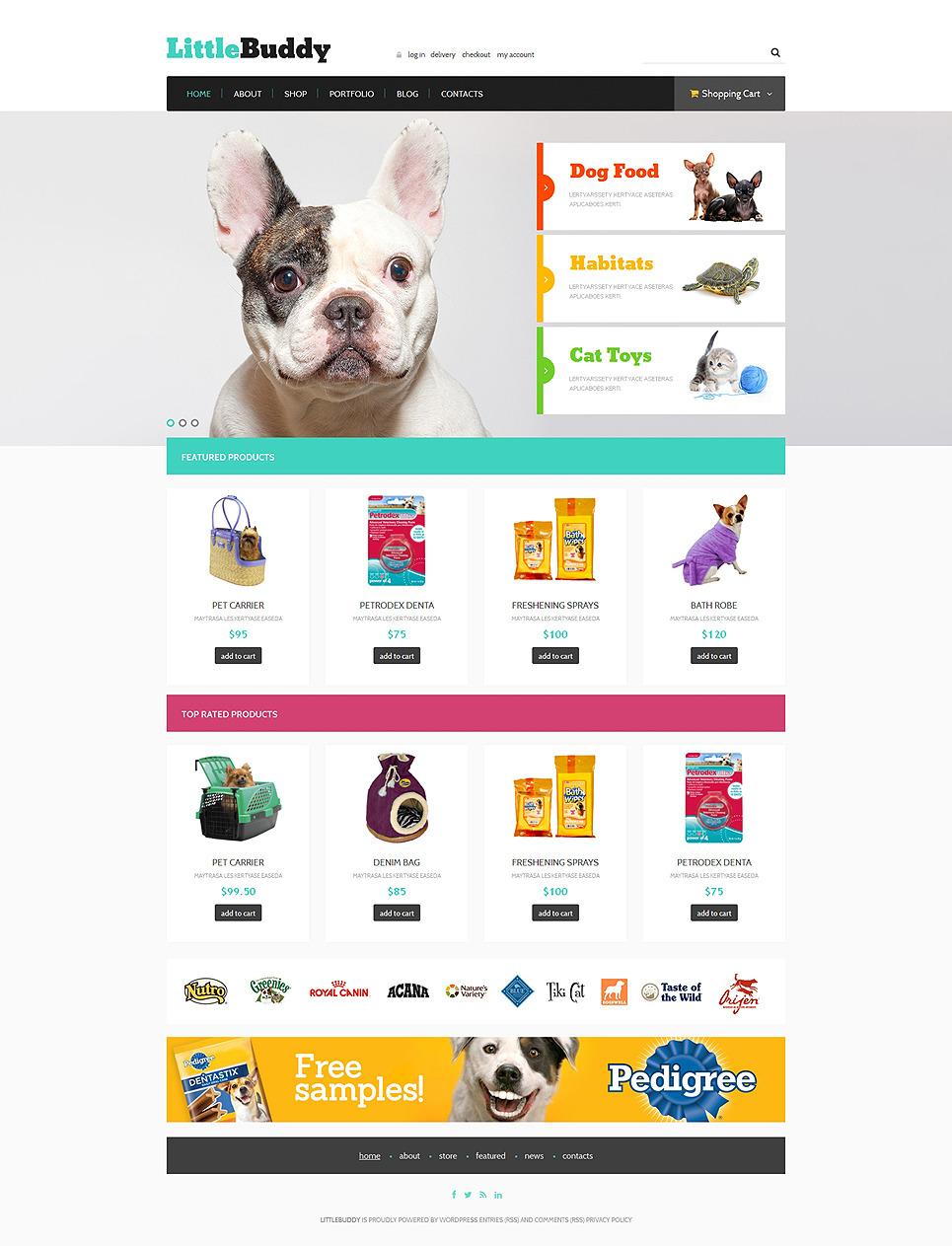 Little Buddy WooCommerce Theme New Screenshots BIG