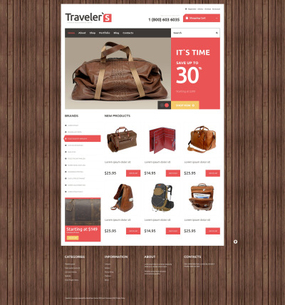 Travel Responsive WooCommerce Teması