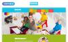 Responsive Website Vorlage für Kindercenter  New Screenshots BIG
