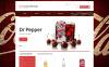 Reszponzív Ételek és italok  WooCommerce sablon New Screenshots BIG