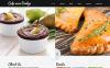 Reszponzív Kávézó témakörű  Joomla sablon New Screenshots BIG