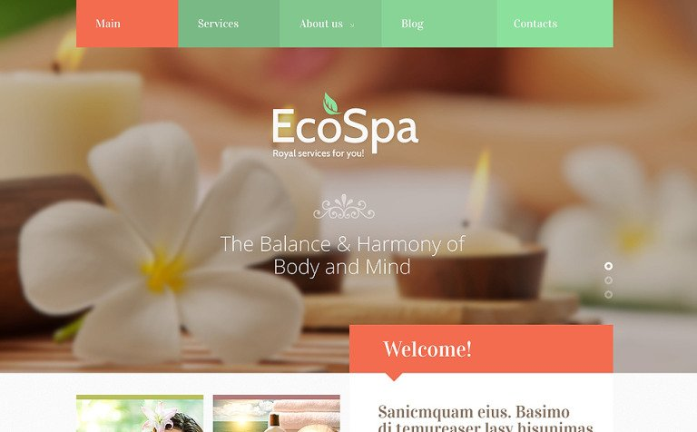 Spa Accessories Responsive Joomla Template