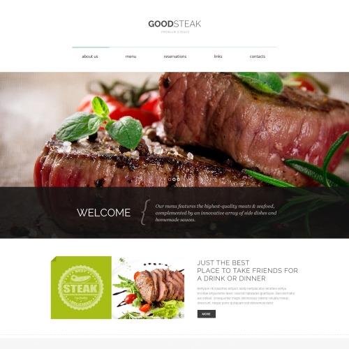 Good Steak - HTML5 Drupal Template