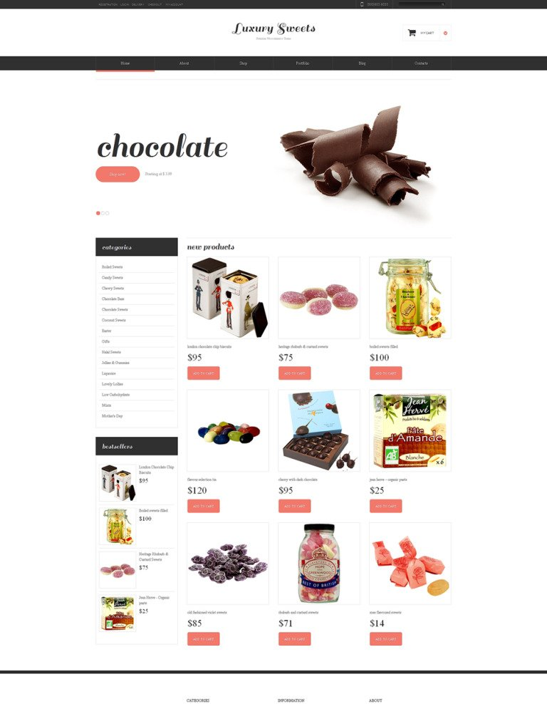 Sweet Shop Responsive WooCommerce Theme New Screenshots BIG