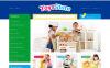 """Toys for Kids"" - адаптивний PrestaShop шаблон New Screenshots BIG"