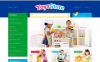 """Toys for Kids"" Responsive PrestaShop Thema New Screenshots BIG"