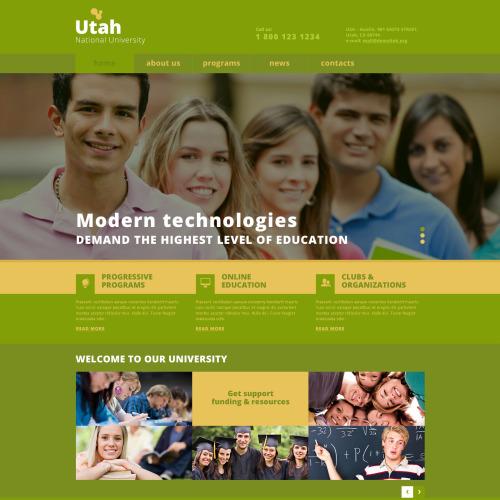 Utah - Joomla! Template based on Bootstrap