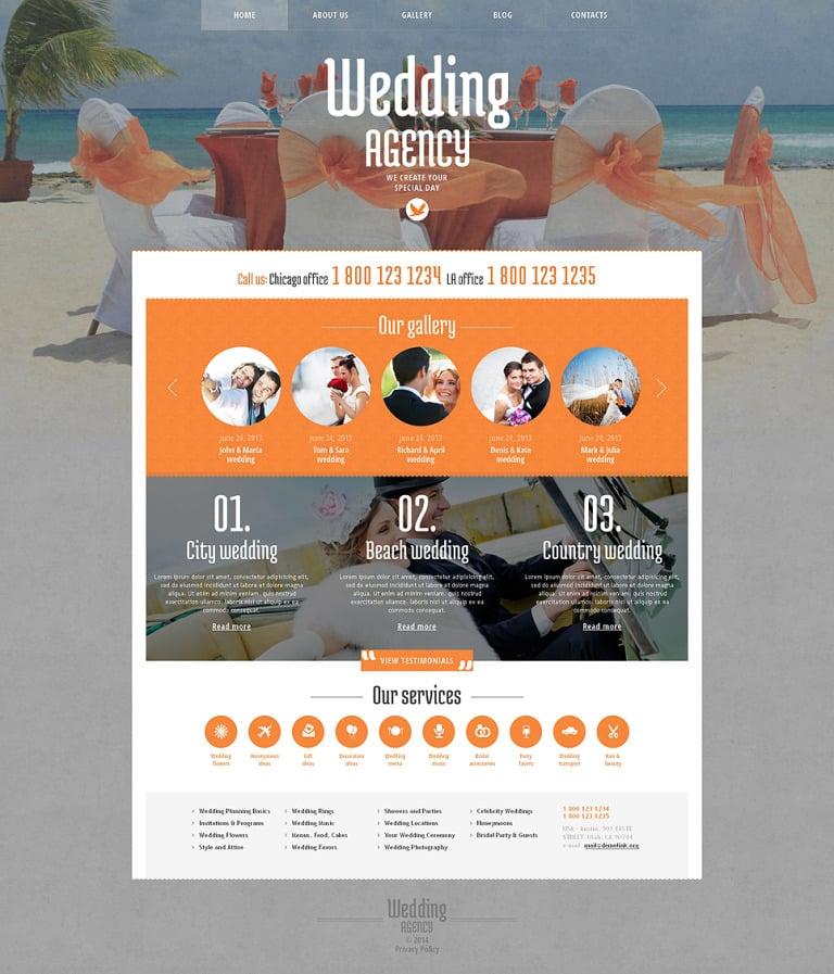 Wedding Venues Responsive WordPress Theme New Screenshots BIG
