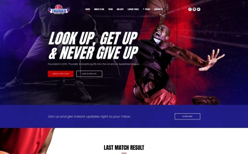 best sports websites for sport clubs teams and gyms templatemonster