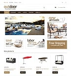 Furniture Magento Template 48512
