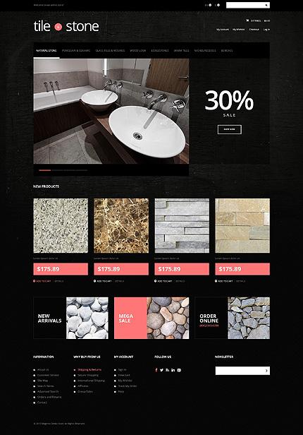 Magento Theme/Template 48513 Main Page Screenshot