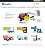 Electronics Magento Template 48515
