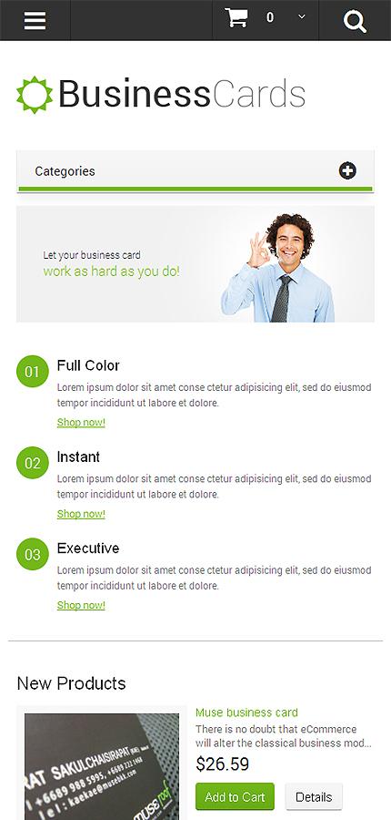Magento Theme/Template 48516 Main Page Screenshot