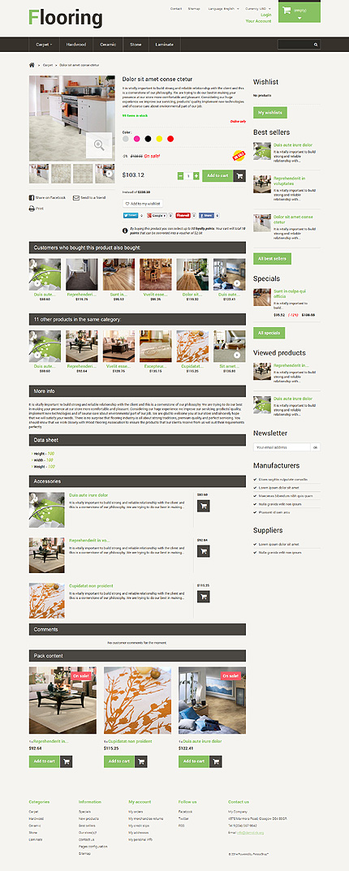 ADOBE Photoshop Template 48520 Home Page Screenshot