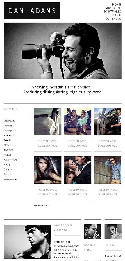 WordPress Theme/Template 48522 Main Page Screenshot