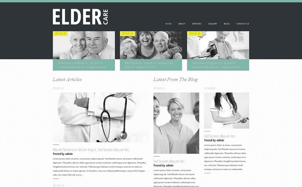 Tema De WordPress Responsive para Sitio de Medicina New Screenshots BIG