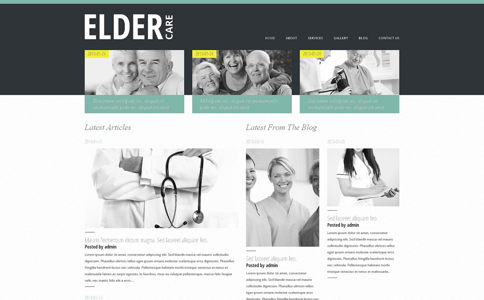 Tema WordPress Flexível para Sites de Medico №48524 New Screenshots BIG