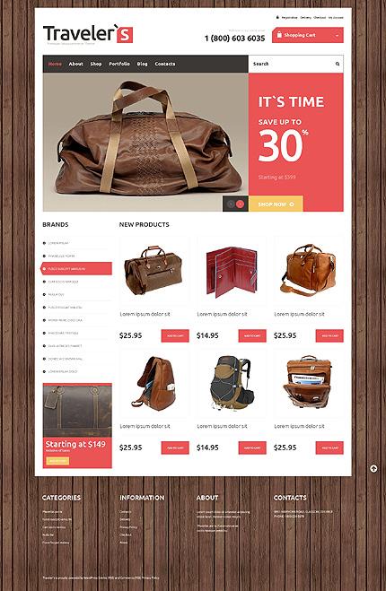 ADOBE Photoshop Template 48526 Home Page Screenshot