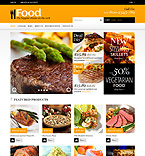 Food & Drink Shopify Template 48535