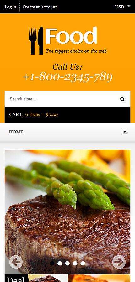 ADOBE Photoshop Template 48535 Home Page Screenshot
