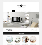 Real Estate Website  Template 48537