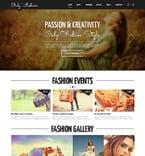 Fashion Joomla  Template 48541