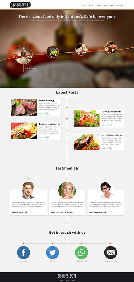 Joomla Theme/Template 48542 Main Page Screenshot