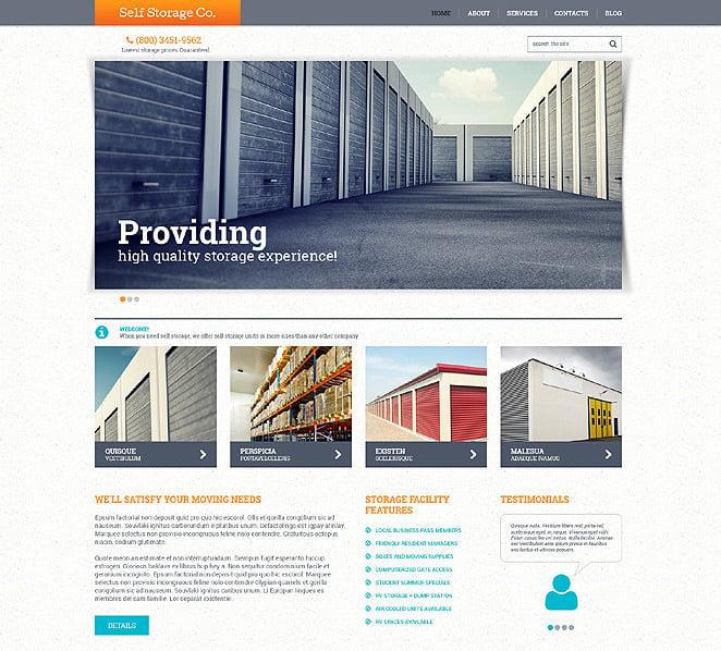 Responsywny szablon strony www #48545 na temat: biura New Screenshots BIG