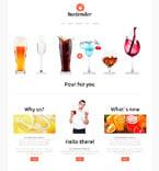 Night Club Website  Template 48546