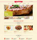 Cafe & Restaurant WordPress Template 48549