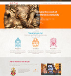 Religious WordPress Template 48550