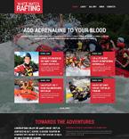 Sport Website  Template 48553