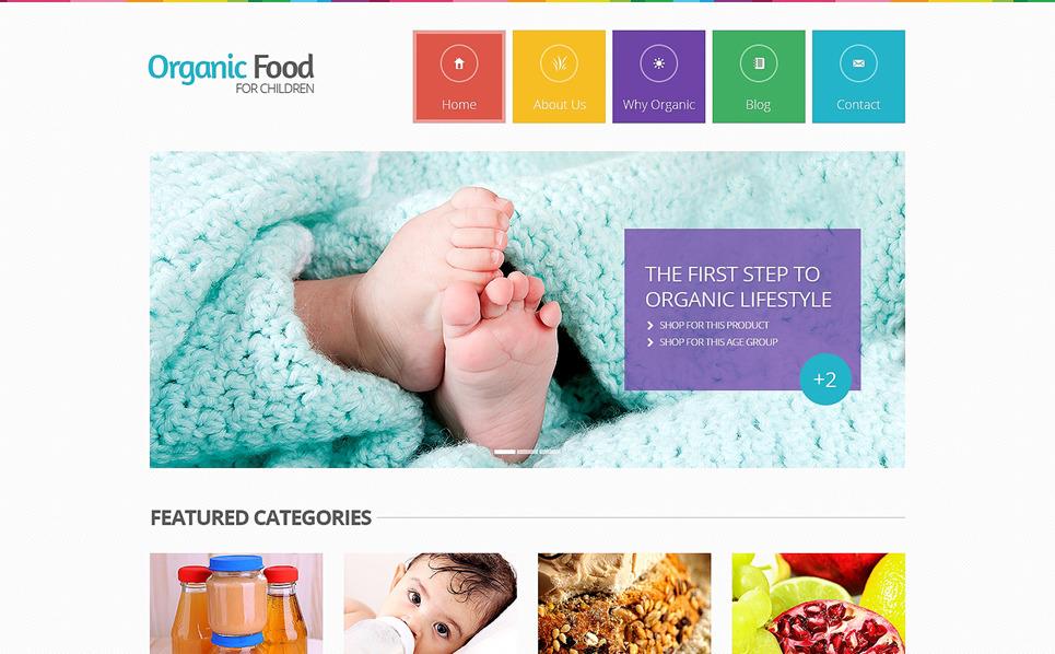 Responsive Website template over Kruidenierswinkel  New Screenshots BIG