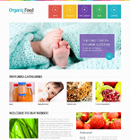 Food & Drink Website  Template 48554