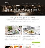 Cafe & Restaurant Website  Template 48557