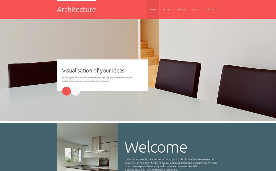 Modèle Web adaptatif  pour site d'architecture New Screenshots BIG