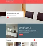 Architecture Website  Template 48558
