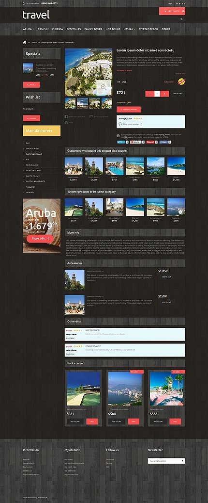 ADOBE Photoshop Template 48568 Home Page Screenshot