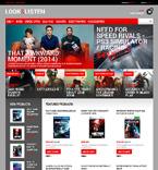 Entertainment PrestaShop Template 48569