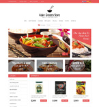 Cafe & Restaurant osCommerce  Template 48573