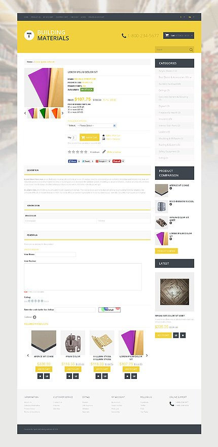Mintenance Services template