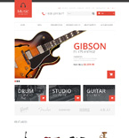 Music OpenCart  Template 48578