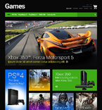 Games Magento Template 48580