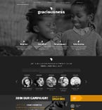 Charity Joomla  Template 48586