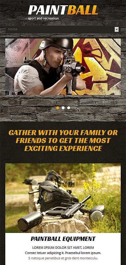 Joomla Theme/Template 48588 Main Page Screenshot